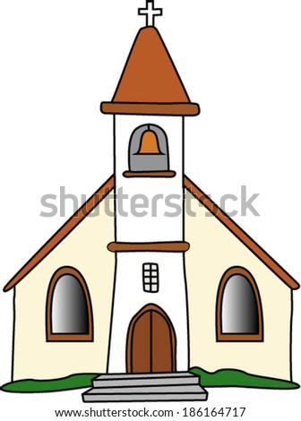 Gothic Church - stock vector