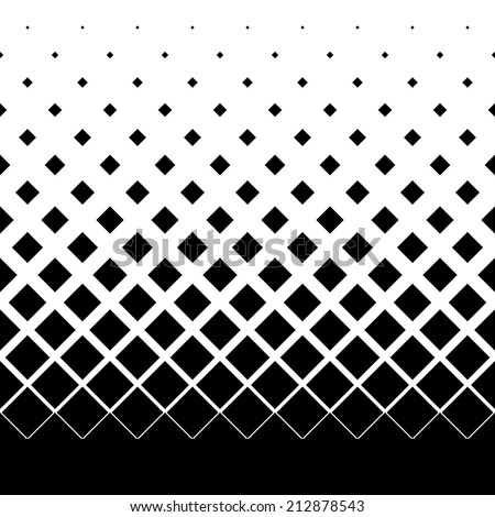 gradient seamless background with black rhombuses - stock vector