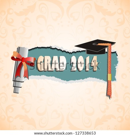 Graduation - stock vector