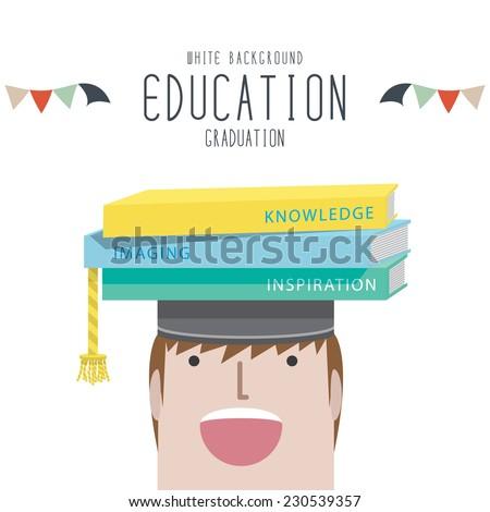 Graduation (Education) - stock vector