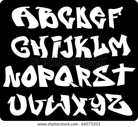 Graffiti Font Stock Photos Images Amp Pictures