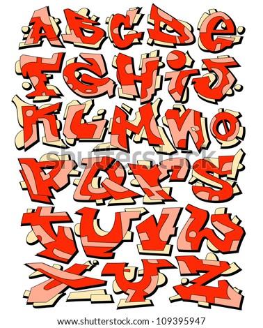 Graffiti font Stock Photos, Images, & Pictures | Shutterstock  Graffiti