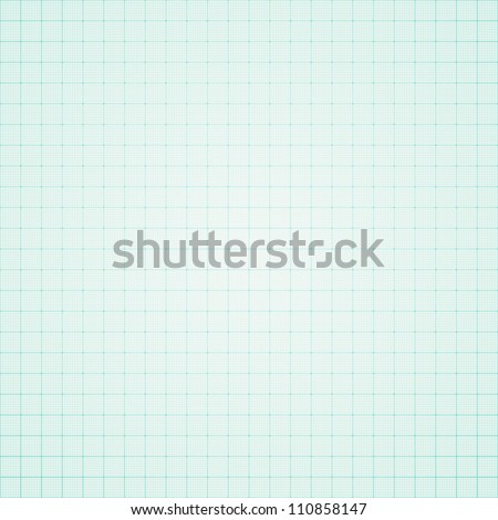 Graph paper background - stock vector