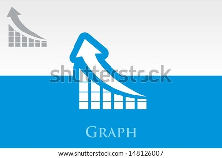graph. Vector. - stock vector
