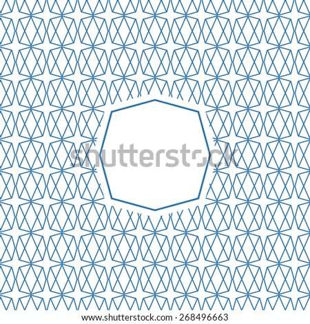 Graphic Design Templates for Logo, Labels and Badges. Abstract Line Patterns Backgrounds. - stock vector