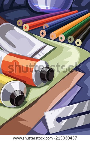 Graphic Studio - Vector Illustration Art - stock vector