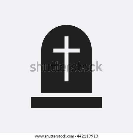Gravestone Icon, Gravestone Icon Eps10, Gravestone Icon Vector, Gravestone Icon Eps, Gravestone Icon Jpg, Gravestone Icon, Gravestone Icon Flat, Gravestone Icon App, Gravestone Icon Web, Gravestone - stock vector
