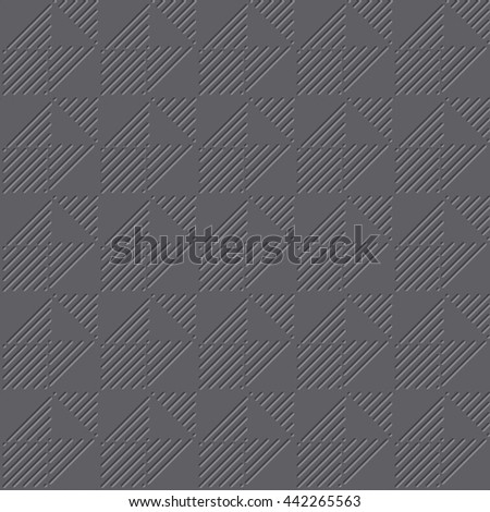 gray color light 3d geometric pattern  - stock vector