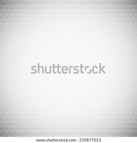 Gray geometric background, abstract triangle pattern vector. - stock vector