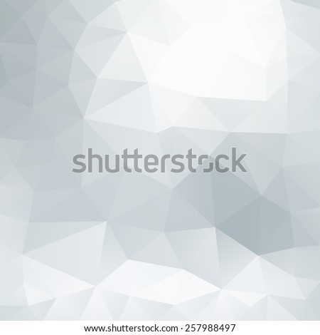 Gray polygonal abstract geometric background - stock vector