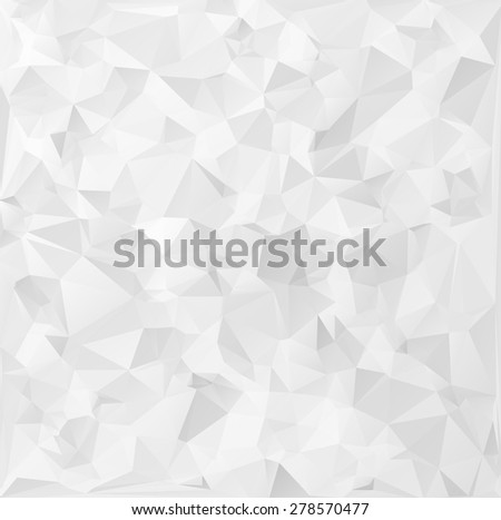 Gray Polygonal Mosaic Background, Creative Design Templates - stock vector