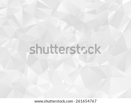 Gray Polygonal Mosaic Paper Background, Vector illustration - stock vector