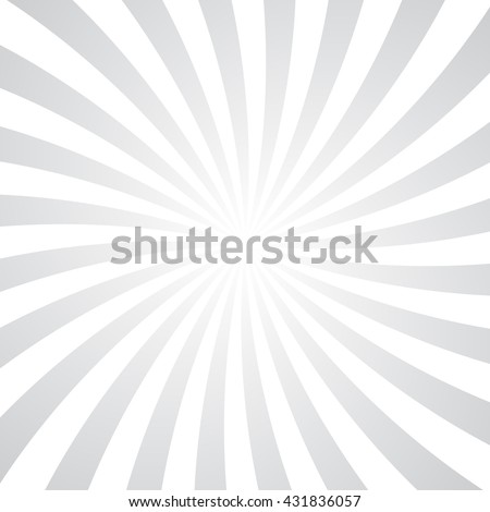 Gray rays poster. Popular ray star burst background television vintage. White and light-red abstract texture with sunburst, flare, beam. Retro art design. Sun glow bright pattern. Vector Illustration. - stock vector