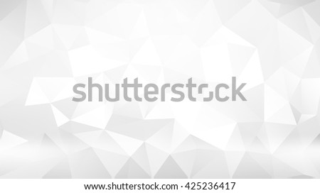 Gray triangular abstract background. Trendy vector illustration. - stock vector