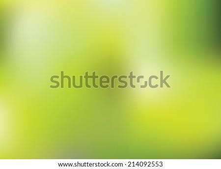 Green abstract background. Vector. - stock vector