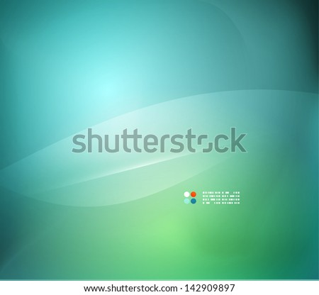 Green blue abstract background - stock vector