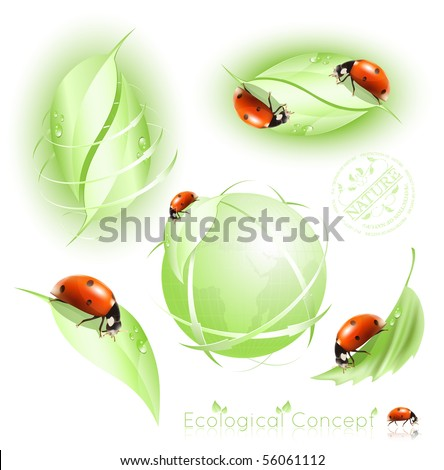 Green concept. - stock vector