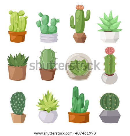 Cactus character stock photos images pictures for Cactus imagenes