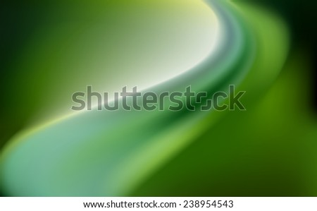 green emerald silk background with some soft folds - stock vector