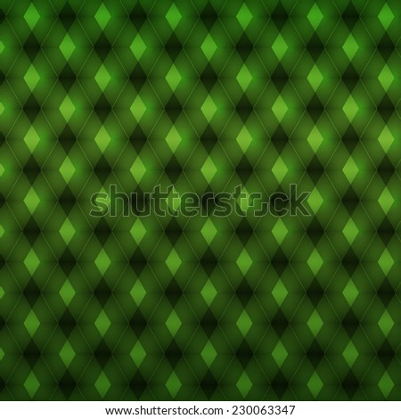 green geometric pattern. abstract background. Vector illustration - stock vector