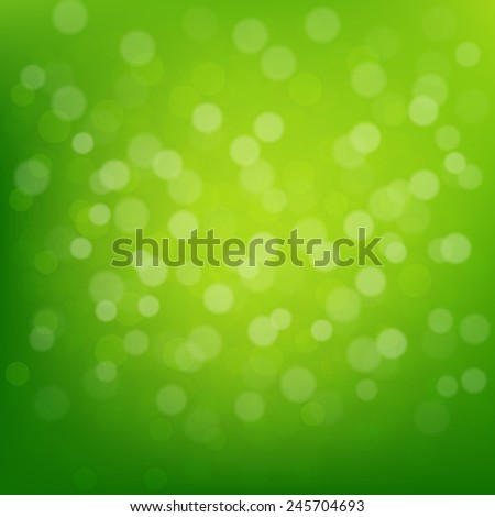 Green Glitter Background With Gradient Mesh, Vector Illustration - stock vector