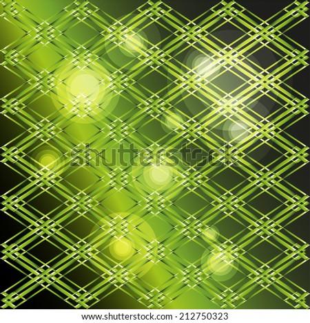 Green gradient background  - stock vector