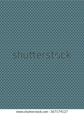 Green half circle pattern over green color background - stock vector