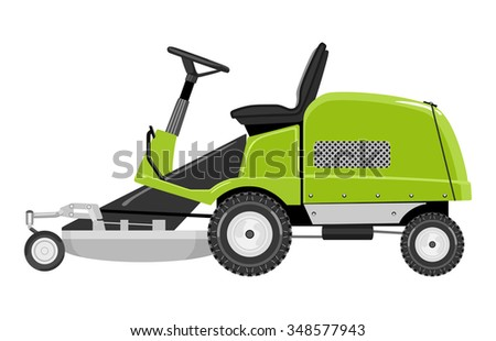 Riding Lawn Mower Stock Illustrations & Cartoons ...