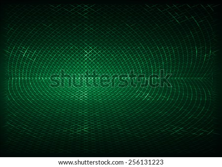 green metal mesh  Pattern, Vector, illustration. texture. Wire. fence. Abstract Technology background for computer graphic website internet and business. - stock vector