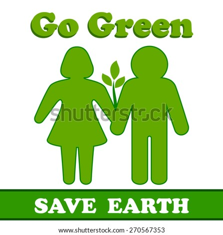 going green to save the environment 2 essay