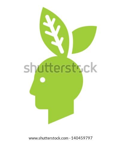 Greenboy sign - stock vector
