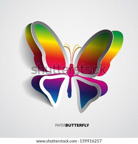 Rainbow butterfly logo - photo#18