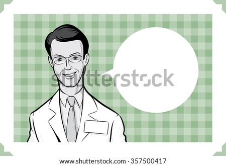 Greeting card with - personalize your card with a custom text - stock vector