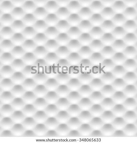 Grey abstract hexagons texture. Vector background - stock vector