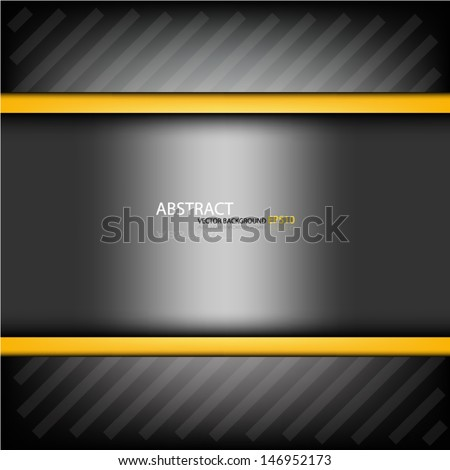 grey background construction metal pattern texture grey metal steel message board for text and message design eps10 - stock vector