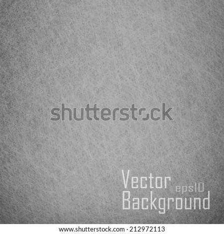 Grey background. Vector texture. - stock vector