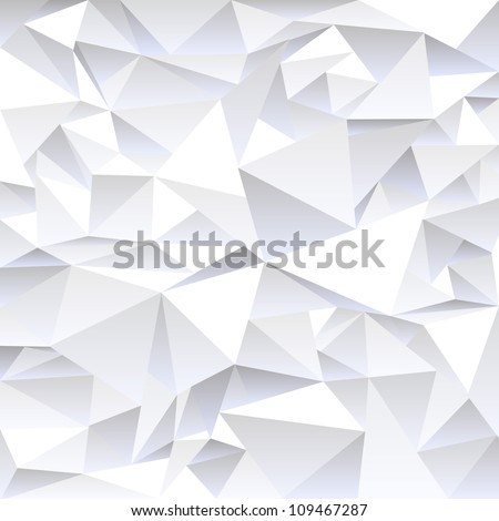 Grey crumpled abstract background.Vector eps10 - stock vector
