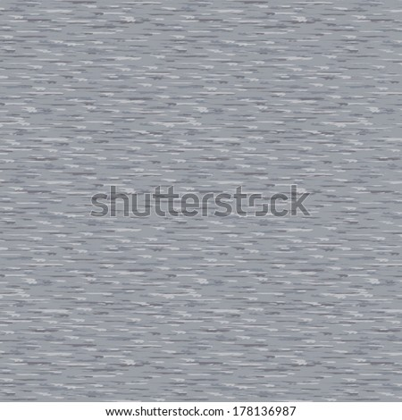 Grey marle fabric texture in a seamless repeat pattern.  - stock vector