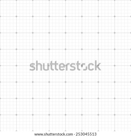 grid paper seamless pattern. Endless texture can be used for wallpaper, pattern fills, web page background,surface textures. - stock vector