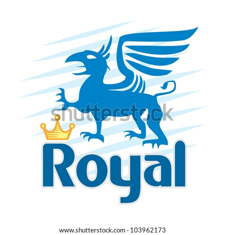 griffin - stock vector