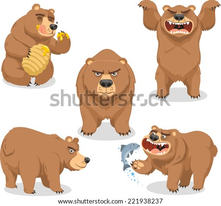Bears Like to Eat Like Eating Honey