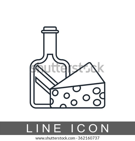 grocery icon - stock vector