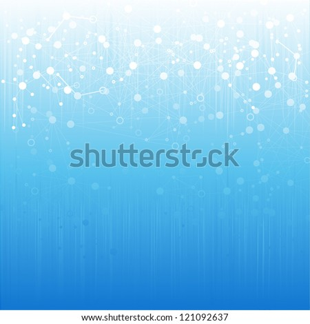 Group of abstract background nodes. - stock vector