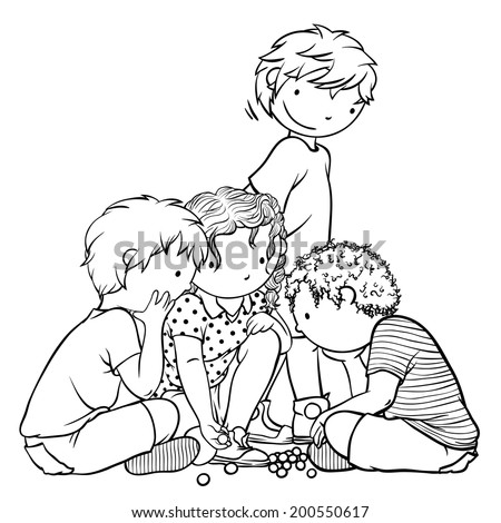 Marble Playing Coloring Pages Coloring Pages Marble Coloring Page