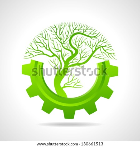 Growing business concept with a tree - stock vector
