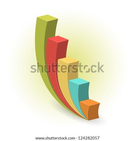 Growth concept, isolated, editable - stock vector
