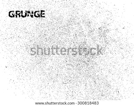 Grunge Background . Speckled Texture . Distress Texture . Grunge Texture . Dirt Texture . Ink Blots .Overlay Texture . Simply Place Texture over any Object to Create Distressed Effect . - stock vector