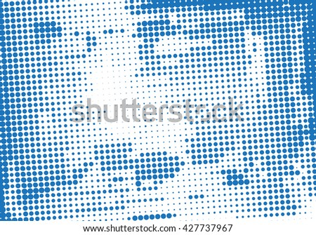 Grunge Background - Vector Illustration, Graphic Design  - stock vector