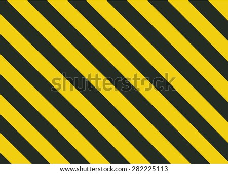 Grunge Black and Orange Surface as Warning or Danger Pattern Old, vector background - stock vector
