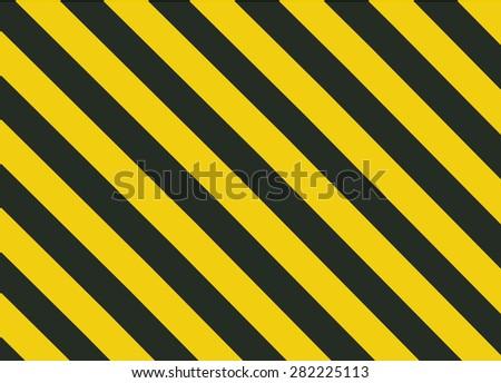 Grunge Black and Orange Surface as Warning or Danger Pattern Old, vector background - stock vector